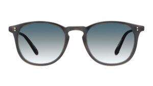Garrett Leight Kinney SUN MGCR matte grey Crystal front
