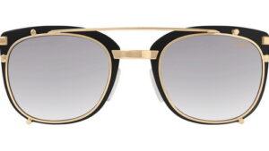 Cazal 9077 Eckig Vintage Schwarz-Gold 001 42-22 front