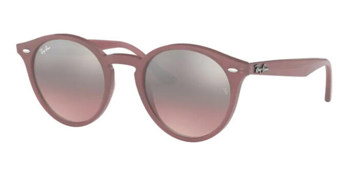 Ray Ban RB 2180 62297E opal antique pink, pink mirror silver gradient verlaufend lenses 49