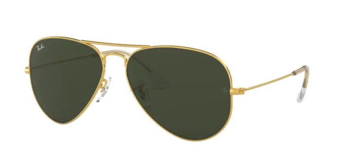 Ray Ban RB3025 001 gold grey green crystal 85% uni