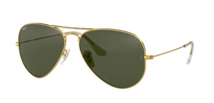 Ray Ban RB3025 L0205 gold crystal grey green