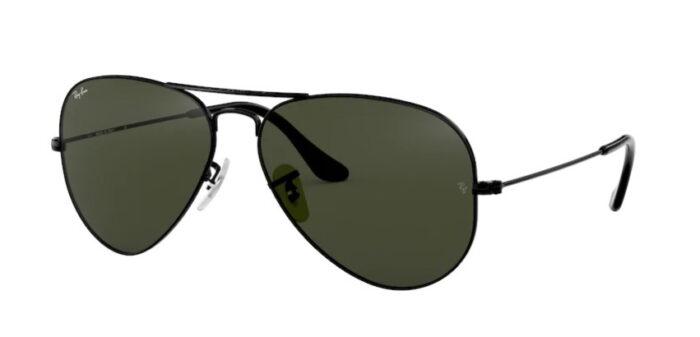 Ray Ban RB3025 L2823 black crystal grey green