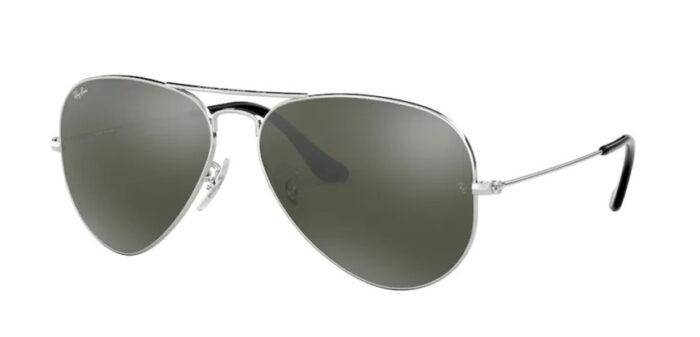 Ray Ban RB3025 W3277 silver crystal grey mirror