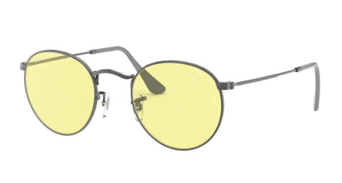 Ray Ban RB 3447 004/T4 Gunmetal light yellow photochromic