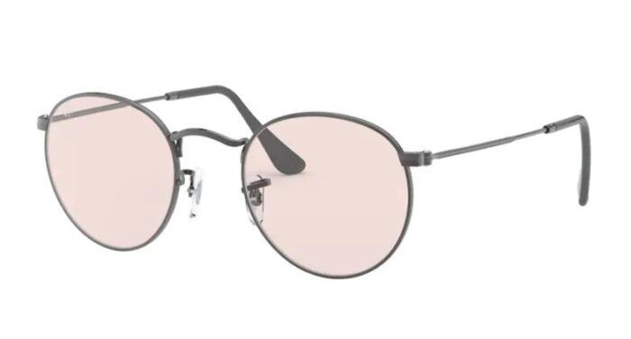 Ray Ban RB 3447 004/T5 Gunmetal light pink photochromic