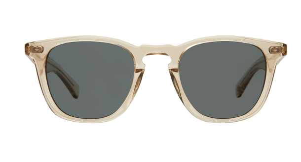 Garrett Leight Brooks X SUN 48 CH Champagne Blue Smoke front