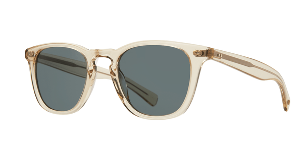Garrett Leight Brooks X SUN 48 CH Champagne Blue Smoke side