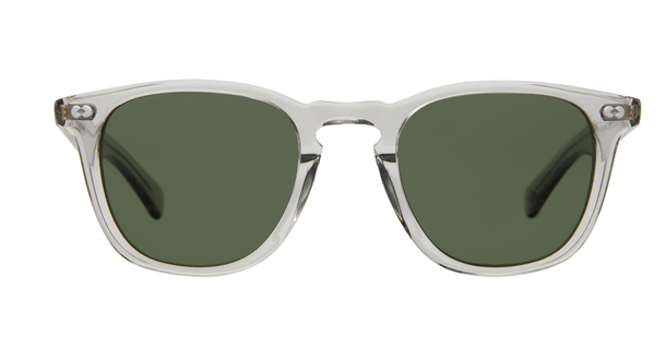 Garrett Leight Brooks X LLG Grey Crystal Pure G15 front