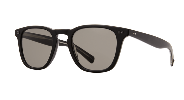 Garrett Leight Brooks X SUN 48 MBK Matt Black Pure Grey side