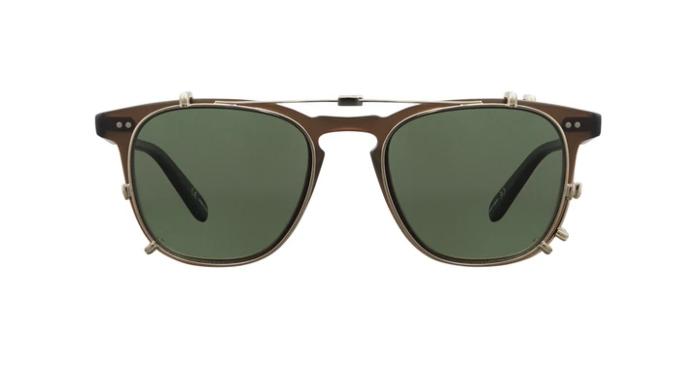 Garrett Leight Brooks Clip On Sunglasses