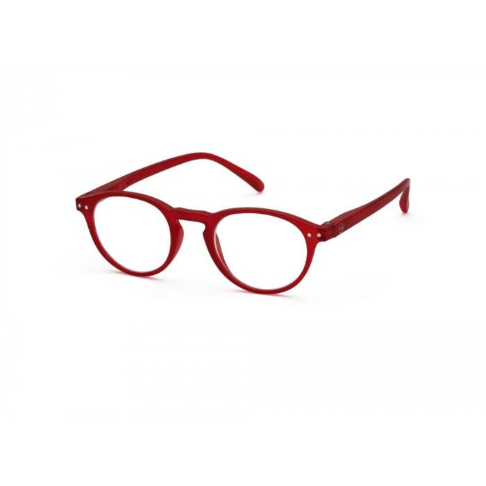 Lesebrillen Izipizi A Model rot side