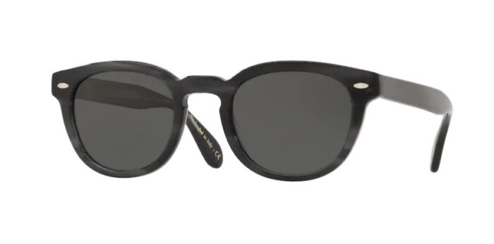 Oliver Peoples OV5036S Sheldrake Sun 1661P2 Charcoal Tortoise Midnight Express Pola