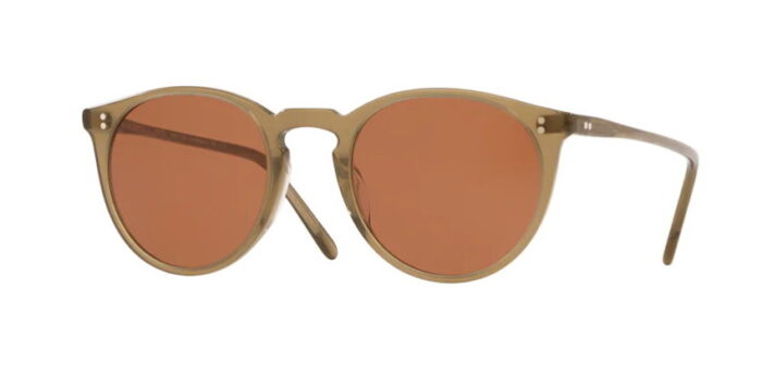 Oliver Peoples OV5136S O'Malleys Sun 167853 Dusty Olive Persimmon Lenses
