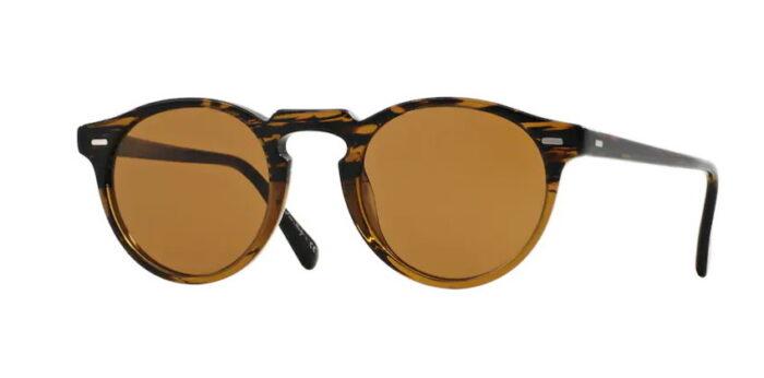 Oliver Peoples OV5217S Gregory Peck 100153 Tortoise 8108 crystal brown b15 Lenses