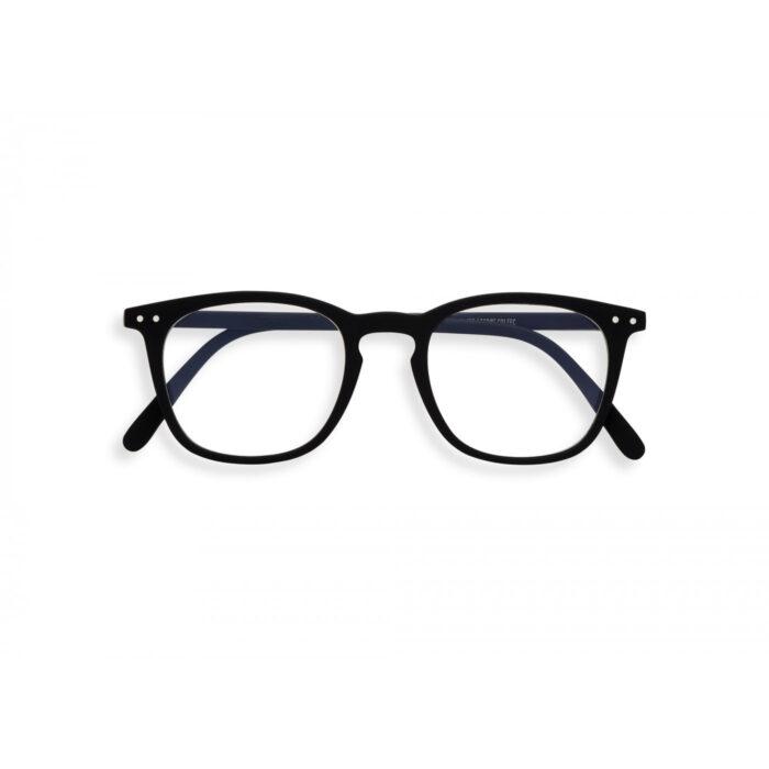 Computerbrille Izipizi E Model schwarz front