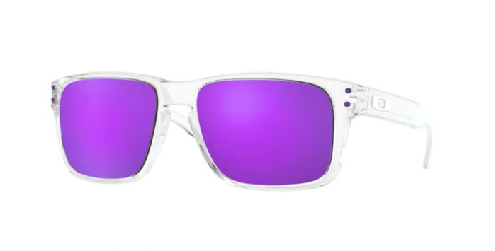 Oakley OJ9007 900702 polished Clear violet iridium Lenses