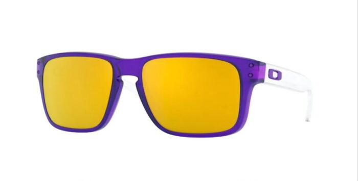 Oakley OJ9007 900706 translucent Purple 24K Iridium Lenses