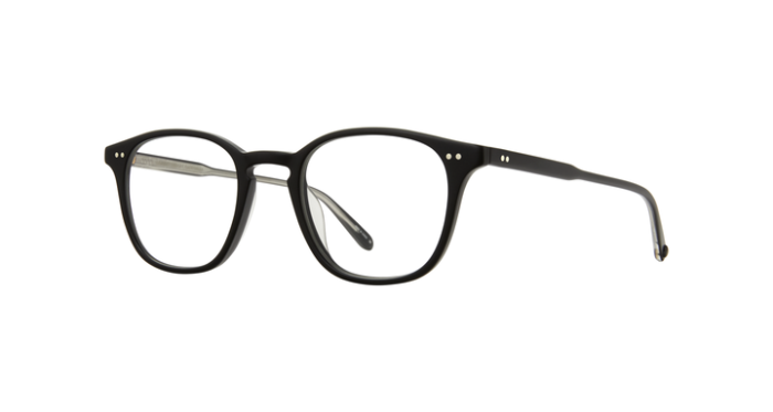 Garrett Leight Clark MBK Matte Black side