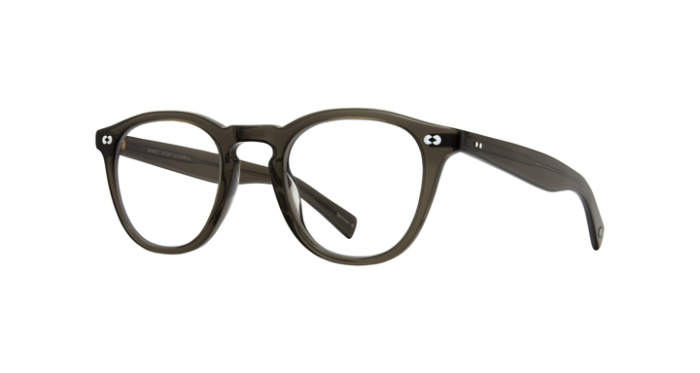 Garrett Leight Hampton X BLGL Black Glass side