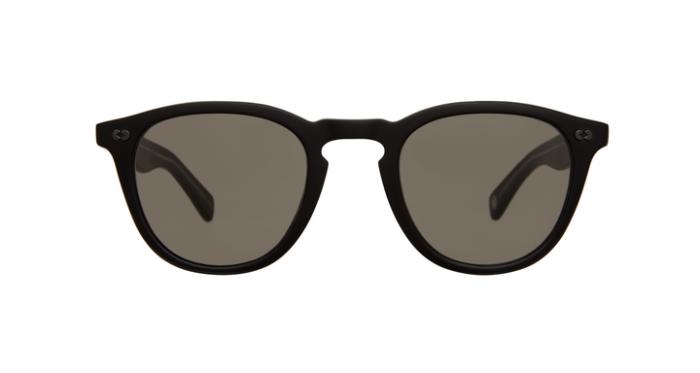 Garrett Leight Hampton X SUN MBK/PGY Matte black Pure grey 85% lenses