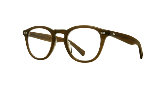 Garrett Leight Hampton X OLV Olive side
