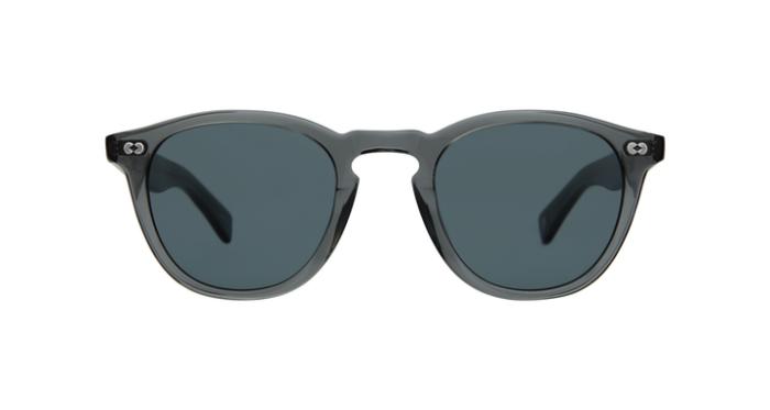 Garrett Leight Hampton X SGY/BS Sea Smoke grey, Blue smoke lenses