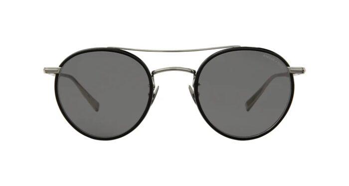 Garrett Leight Rimova X GLCO BKS/SFBK Black Silver Semi Flat Black