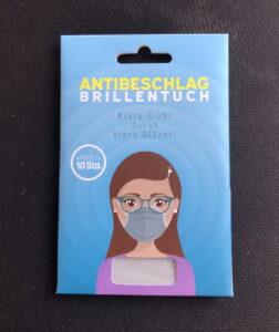 Antibeschlag Brillenträger