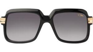 Die Cazal 607 Legends Sun Sonnenbrille ist eine auffalende Piloten-Brille. Ihre legendäre Form passt auch für grössere Köpfe.