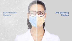 Schutzmasken für Brillenträger