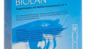 Biolan Augentropfen Natriumhyaluronat