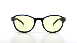 Gaming Brille Icon blue