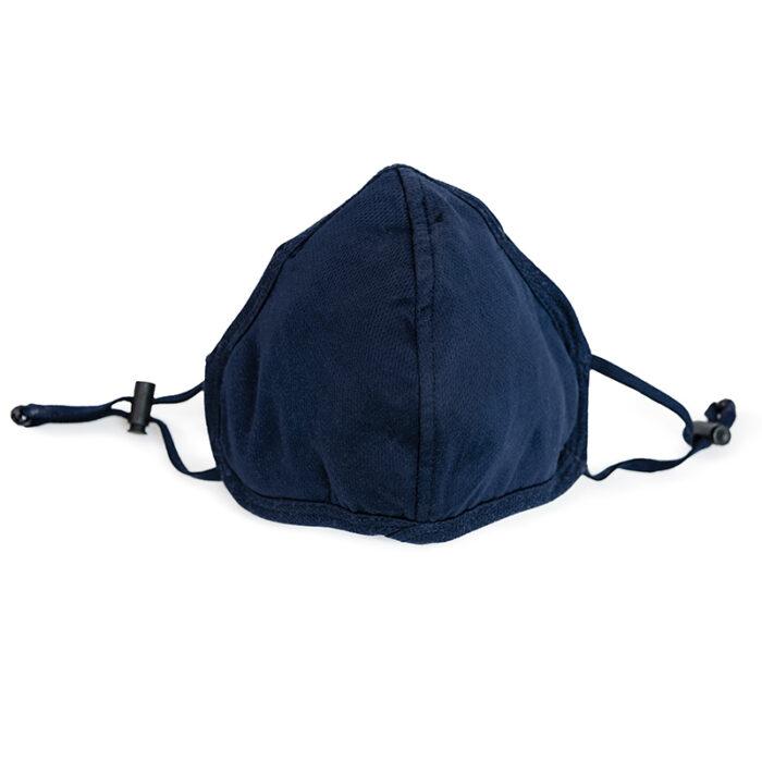 Stoffmasken für Brillenträger blau